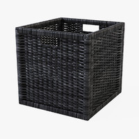 3d rattan basket ikea branas model