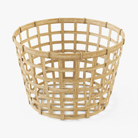 3d model of basket ikea gaddis 32