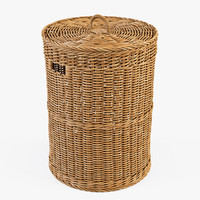 max wicker laundry basket