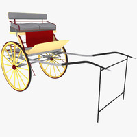 3d carriage car model
