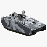 cv90 armadillo 3d model