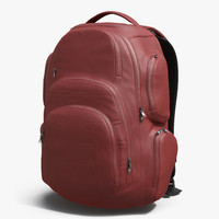 3d backpack 3 generic model