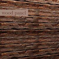 wood panel 3d fbx