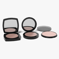 face powders 3d model