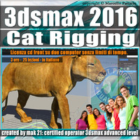 006 3ds max 2016 Cat Rigging volume 6.0 Italiano cd front