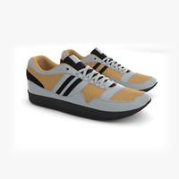 sports shoes 3d model