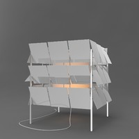 antoni arola cubrik square 3d model