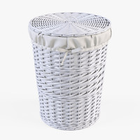 max wicker laundry basket color