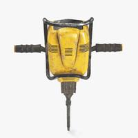 jackhammer hammer 3d model