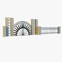 iron railing max