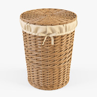 wicker laundry basket color max
