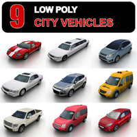 obj 9 generic city vehicles