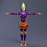 clown 3d ma