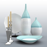 decor vases 3d max