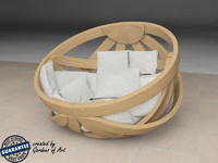 3d chair bed