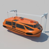 3d lifeboat tender