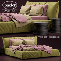 3d paris bed baxter
