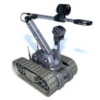 Remote control bomb disposal robot