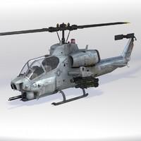 x ah-1w super cobra helicopter