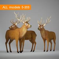 3d max deer