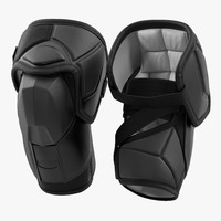 hockey elbow pads 3d 3ds