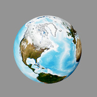 3d realistic earth