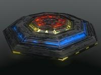 3d model - creeper ufo