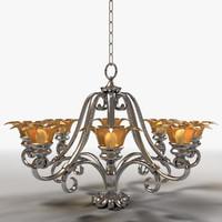 chandelier lighting 3d 3ds