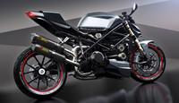 ducati streetfighter 3d model