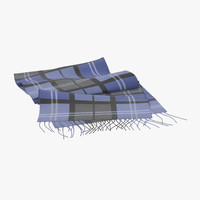 3d model scarf 02