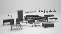 3d furniture interior