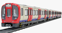 London Subway Train S8 Stock