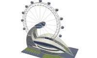 dubai ferris wheel 3d 3ds