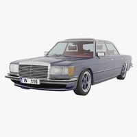 3d max mercedes-benz s-class