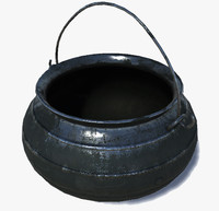 3d cauldron ancient