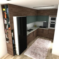 kitchen 2 3d model