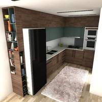 kitchen 2 3d model