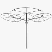 free parasol 3d model