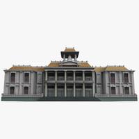 vietnam building 3d model