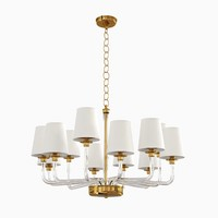 3d parker large chandelier visual