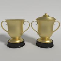 trophy cup 3d 3ds