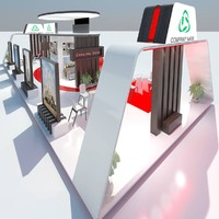 exhibition stand 032 3ds