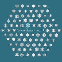 christmas snowflakes 3d model