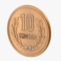 3d 10 yen model