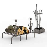 3d model chehoma tool fireplace