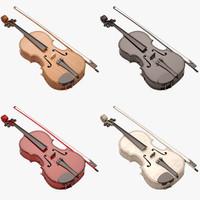 3d viola model