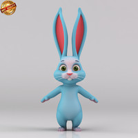 Cartoon Bunny Rabbit Biped