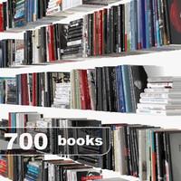 3d model of book set
