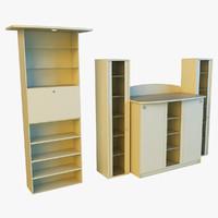 3d x cabinet