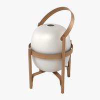 3d model santa cole cesta lantern
